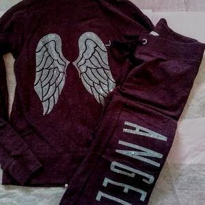 New Victoria's Secret Lounge Angel hoodie/pants